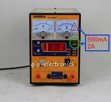 15V 2A Adjustable Switch DC Power Supply USB Charger Phone Repair Test Tool