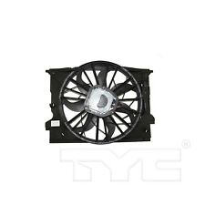 For Mercedes W211 E W219 CLS Dual Radiator and Condenser Fan Assembly TYC 621510