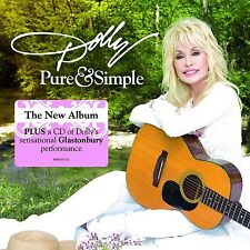 DOLLY PARTON - PURE AND SIMPLE CD ALBUM + BONUS LIVE CD (August 19th 2016)