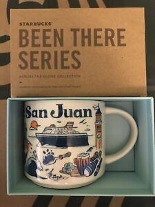 Starbucks Coffee Been There Series 14oz Mug SAN JUAN Puerto Rico Cup w/SKU