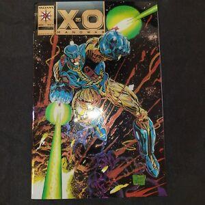 X-O Manowar #0 (1992) w/Chromium Cover and Gold Logo - Valiant Comics