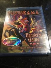 Futurama - Bender's Game (Blu-ray Disc, 2008, Brand new Factory sealed