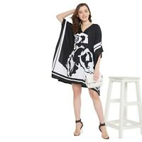 Women Kaftan Tunic Kimono Dress Summer Cover-Up Plus Size Top Beach Wear Dress