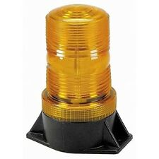 WOLO 3900-A Fresnel Amber Lightning Bright; 12-24-Volts Strobe Light