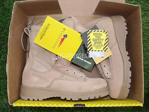NEW Belleville 790st Steel Toe GTX Desert Tan Combat Army Military Boots 6 W