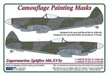 AML 1/72 Supermarine Spitfire Mk. XVIe esquema de pintura Máscara De Camuflaje # M7323