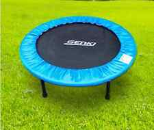 Mini Trampoline Steel Foldable Workout Fitness Gym Exercise 12 Mnth