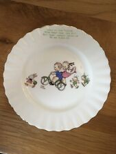 "Royal Albert Mabel Lucie Attwell ""Fairies"" Pattern Side Plate & Bowl"
