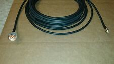 US MADE   LMR-240  N  Male  to   SMA   Male  50ohm   coax cable 15  FT