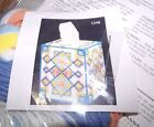Design Works MOSAIC Tissue Box Cover Plastic Canvas Kit