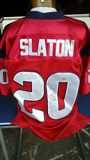 Houston Texans Autographed Steve Slaton Nfl Football Jersey #20 Size 50 Xxl New