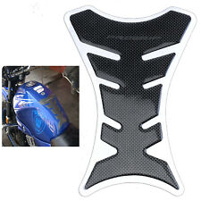10/30/50x Universal Motorcycle Tank Pad Protector 3D Sticker Decal Carbon Fiber