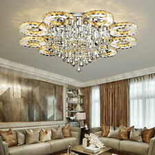 Modern LED Crystal Ceiling Lights luminaria teto cristal Ceiling Lamps