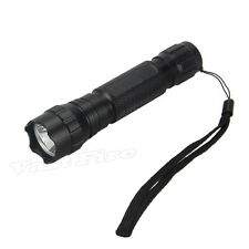 2500LM XML T6 LED 501B Tactical Camping Flashlight 1-Mode Torch Hunting Light