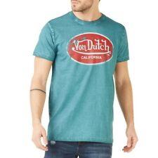 VON DUTCH T-Shirt Homme Aaron'19 Bleu Indigo AARO/B/P