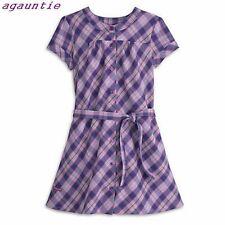 New American Girl Doll Size Pretty & Plaid Dress Isabelle Kanani McKenna Saige