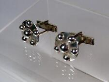Schoenfeld Taxco Mexican Sterling Cufflinks 1985 For Cristal Charity Brenda