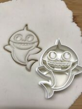 Baby Shark  Cookie Cutter For Biscuits, Fondants Party Cake Toppers.