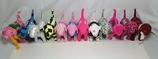 Victorias Secret VS PINK Plush Dog Lot Of 12 -Assorted Prints Retired