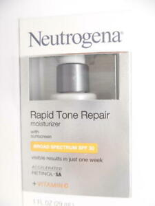 Neutrogena Rapid Tone Repair Moisturizer with Sunscreen SPF 30 + Vitamin C, 1oz.