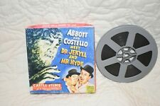 CASTLE FILMS ABBOTT & COSTELLO  MEET DR JEKYLL & MR HYDE SUPER 8 MM B&W FILM