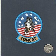 F-14 TOMCAT US NAVY Grumman VF Fighter Squadron Jacket Shoulder Mascot Patch