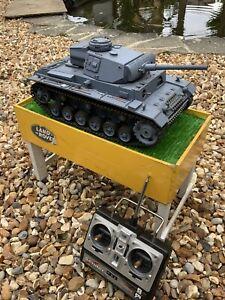 HENG LONG 3848 RC Tank 1/16 Scale Model Tank WWII German Panzer III