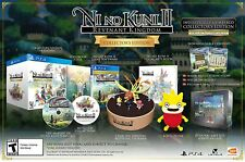 Ni No Kuni II 2 Revenant Kingdom Collectors Edition [Sony PlayStation 4 PS4] NEW