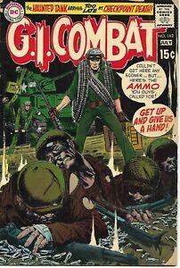 G.I. Combat #142 DC Comic 1970 VG-