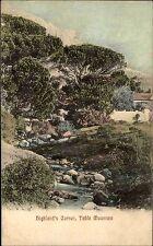Feldpost Kaiserliche Dt. Marine Schiffspost 1909 aus Highland Corner Südafrika