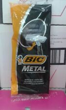 25 BIC METAL Men Disposable Razors (5 pack x 5 shavers) FREE SHIPPING BEST VALUE