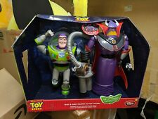 "Toy Story Buzz & Zurg Talking 12"" Action Figure Set Disney Store Exclusive"