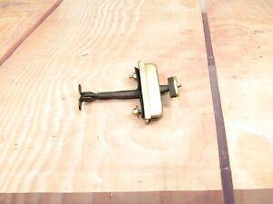 2004-2009 JAGUAR XJ8 XJR VDP X350 OEM LEFT RIGHT REAR FRO DOOR CHECK STOP STRAP