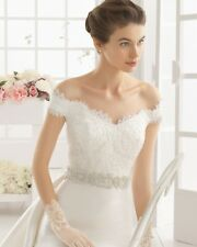 Aire Barcelona wedding dress by Rosa Clara size 8