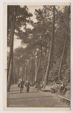 Dorset postcard - Invalids Walk, Bournemouth