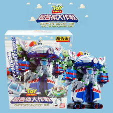 Bandai Disney Toy Story Chogokin Chogattai Daisakusen Buzz the Space Ranger Robo