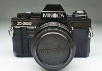 MINOLTA X-300 + MD 50/1,7