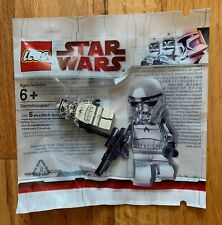 LEGO Star Wars Chrome Stormtrooper Minifig Polybag - Free Shipping