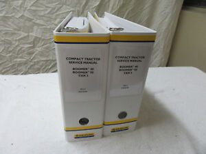 2 Dealer Service Manuals New Holland Boomer Tractor 40 50  Tier 3B # 47698299