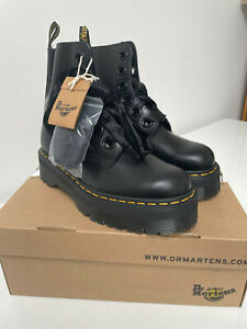 Dr Martens Original Molly Leather Platform Boots