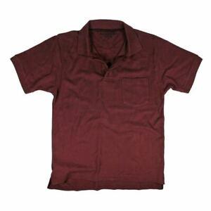 Mens 100% cotton pique polo shirt sports casual golf workwear Tee XXL Plus Size