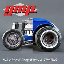 GMP 18864 1:18 Altered Drag Wheel & Tire Pack 1:18 PRESALE