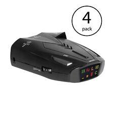 Cobra 9 Band Laser Police Radar Detector with Safety Alert & LaserEye (4 Pack)