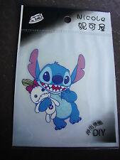 Disney Lilo & Stitch (Stitch&Scrump) Iron on Transfer Kid BRAND NEW RETAIL PACK