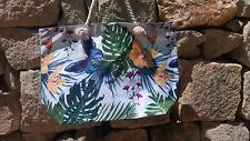 XXL Tasche  Strandtasche ♥ Sporttasche Badetasche Shopper Schmetterling blau