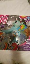 My Little Pony Flip & Whirl Rainbow Dash Talking Figure by Hasbro Brand New