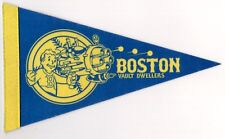 "FALLOUT Boston Vault Dwellers Nerd Block Exclusive Limited Felt Pennant 10"" NICE"