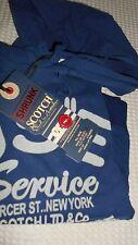 FELPA CON CAPPUCCIO marchio: SCOTCH & SODA , tg. 10 anni BAMBINO