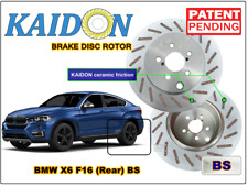 "BMW X6 F16 disc rotor KAIDON (Rear) type ""RS"" / ""BS"" spec"