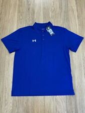 NEW-MEN'S UNDER ARMOUR TEAM POLO, STYLE: 1287622, ROYAL, XL  $ 42.50